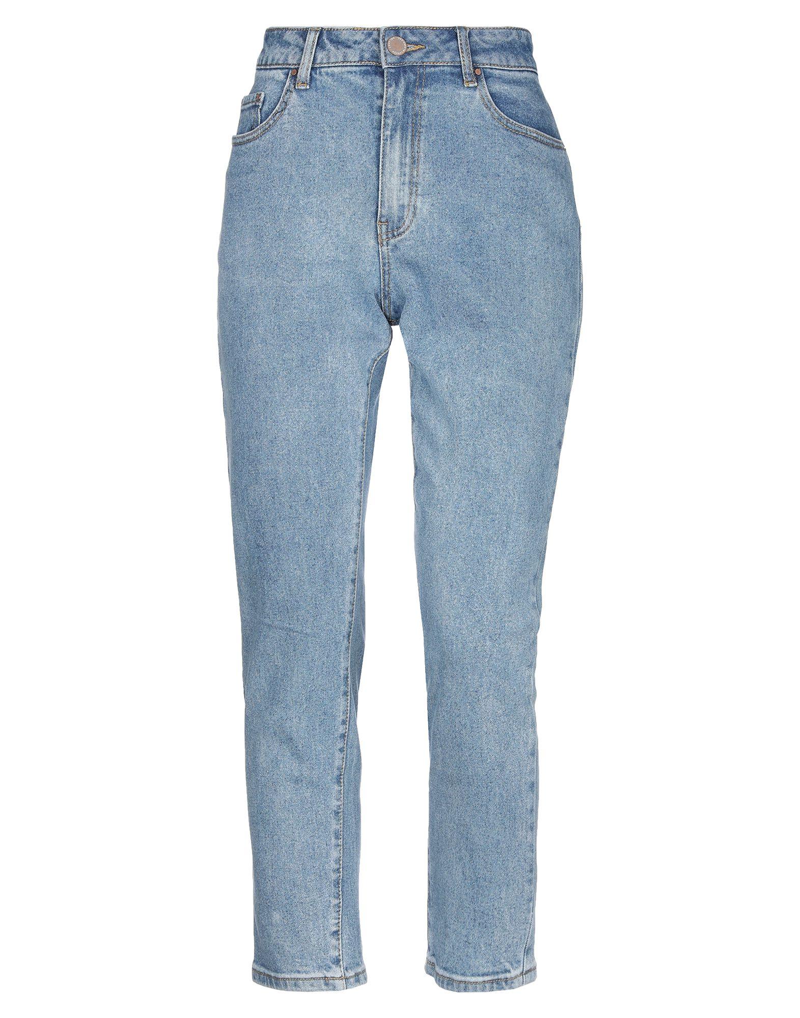 LOST INK Джинсовые брюки-капри брюки lost ink lost ink lo019ewvso35