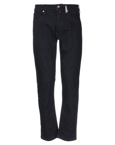 Фото - Джинсовые брюки от HIGH by CLAIRE CAMPBELL темно-синего цвета