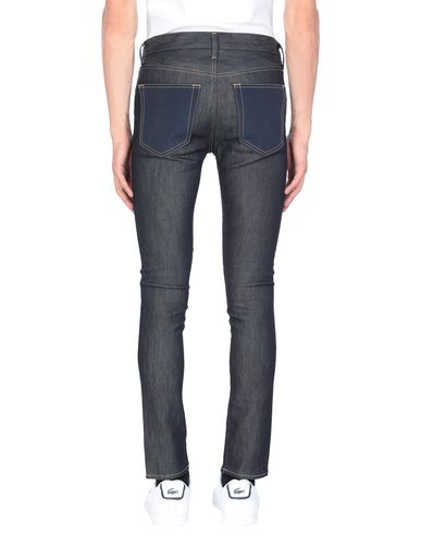Фото 2 - Джинсовые брюки синего цвета