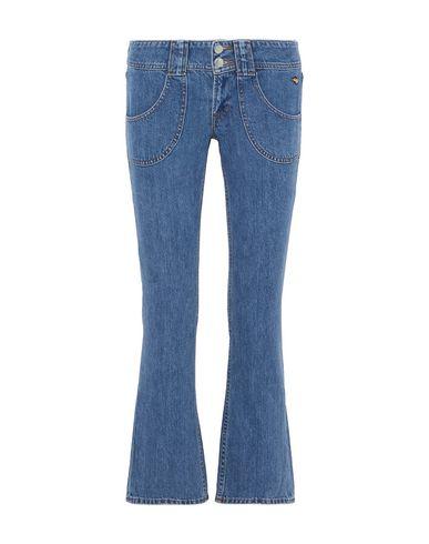 Фото - Джинсовые брюки от J BRAND x BELLA FREUD синего цвета