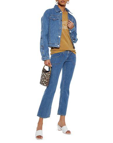 Фото 2 - Джинсовые брюки от J BRAND x BELLA FREUD синего цвета