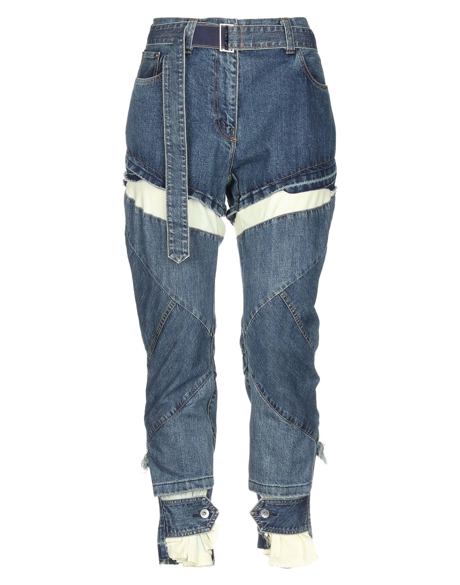 SACAI Джинсовые брюки пальто sacai
