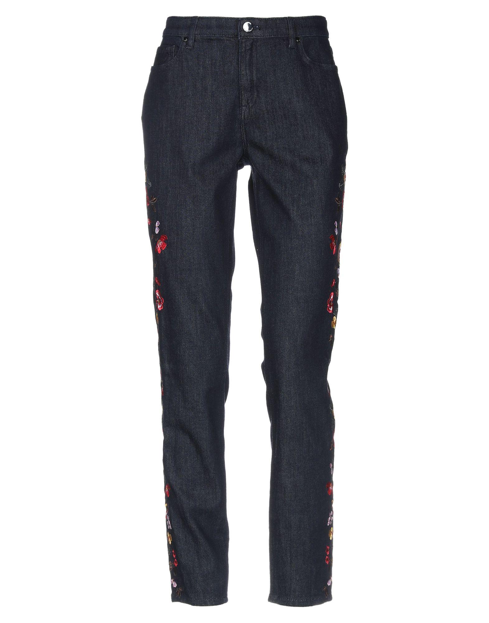 ELIE TAHARI Джинсовые брюки недорго, оригинальная цена