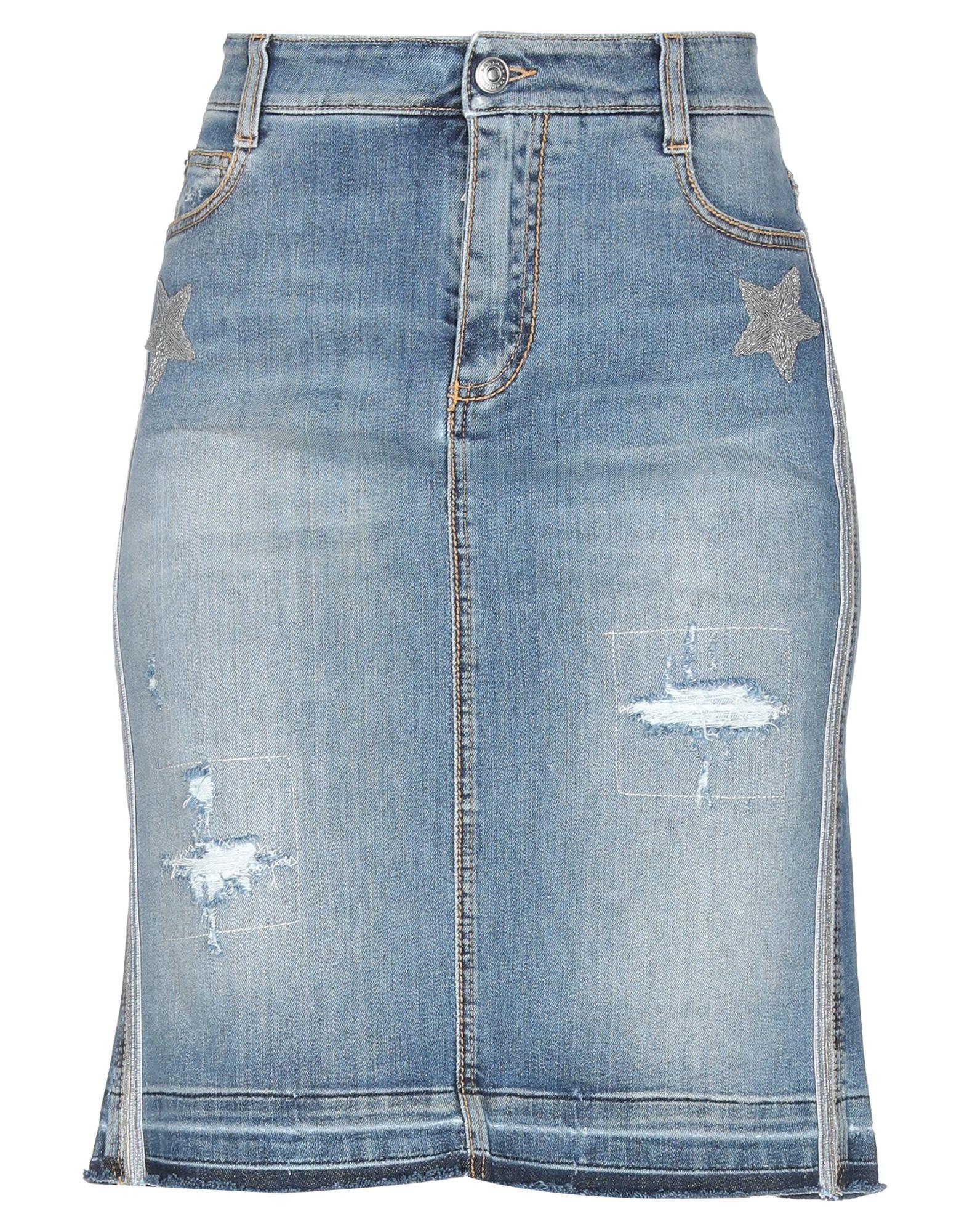 купить ERMANNO SCERVINO Джинсовая юбка по цене 16550 рублей