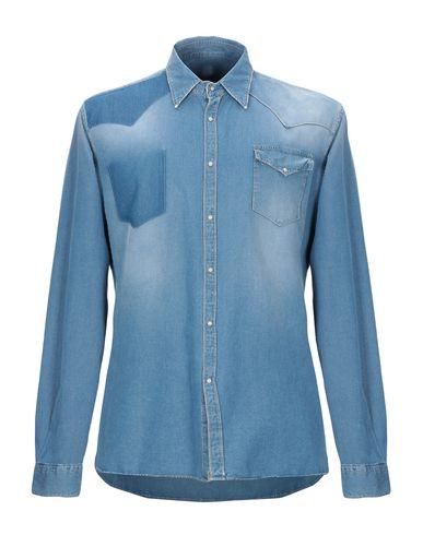 Фото - Джинсовая рубашка от 6167 синего цвета