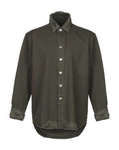 Фото - Джинсовая верхняя одежда от RING цвет зеленый-милитари