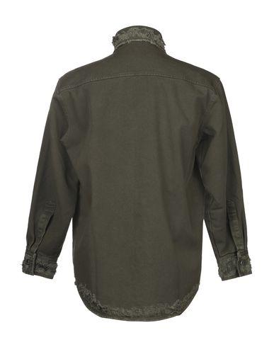 Фото 2 - Джинсовая верхняя одежда от RING цвет зеленый-милитари