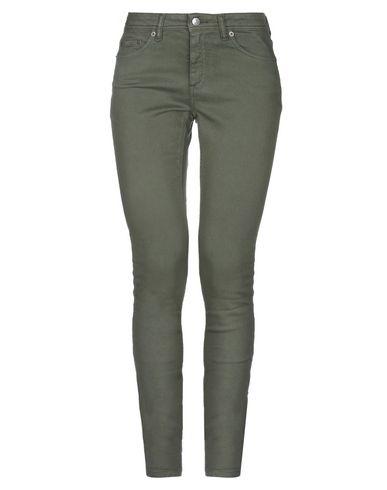 Фото - Джинсовые брюки от ACNE STUDIOS BLÅ KONST цвет зеленый-милитари