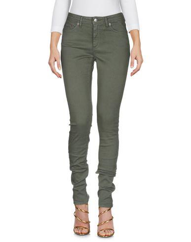 Фото 2 - Джинсовые брюки от ACNE STUDIOS BLÅ KONST цвет зеленый-милитари