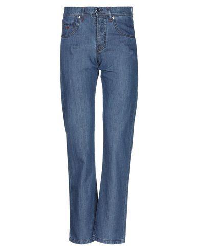 Фото - Джинсовые брюки от MARCO PESCAROLO синего цвета