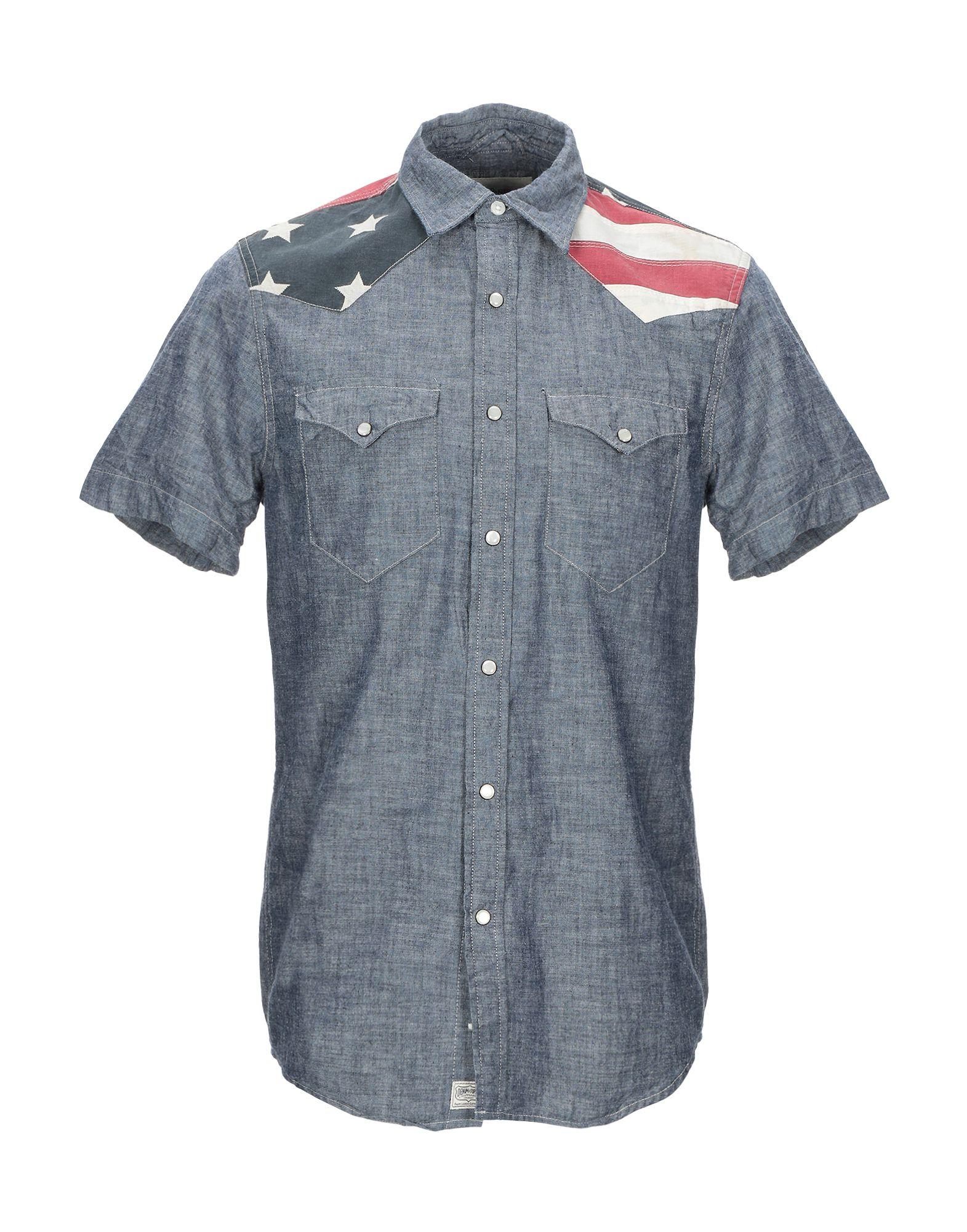 DENIM & SUPPLY RALPH LAUREN Джинсовая рубашка