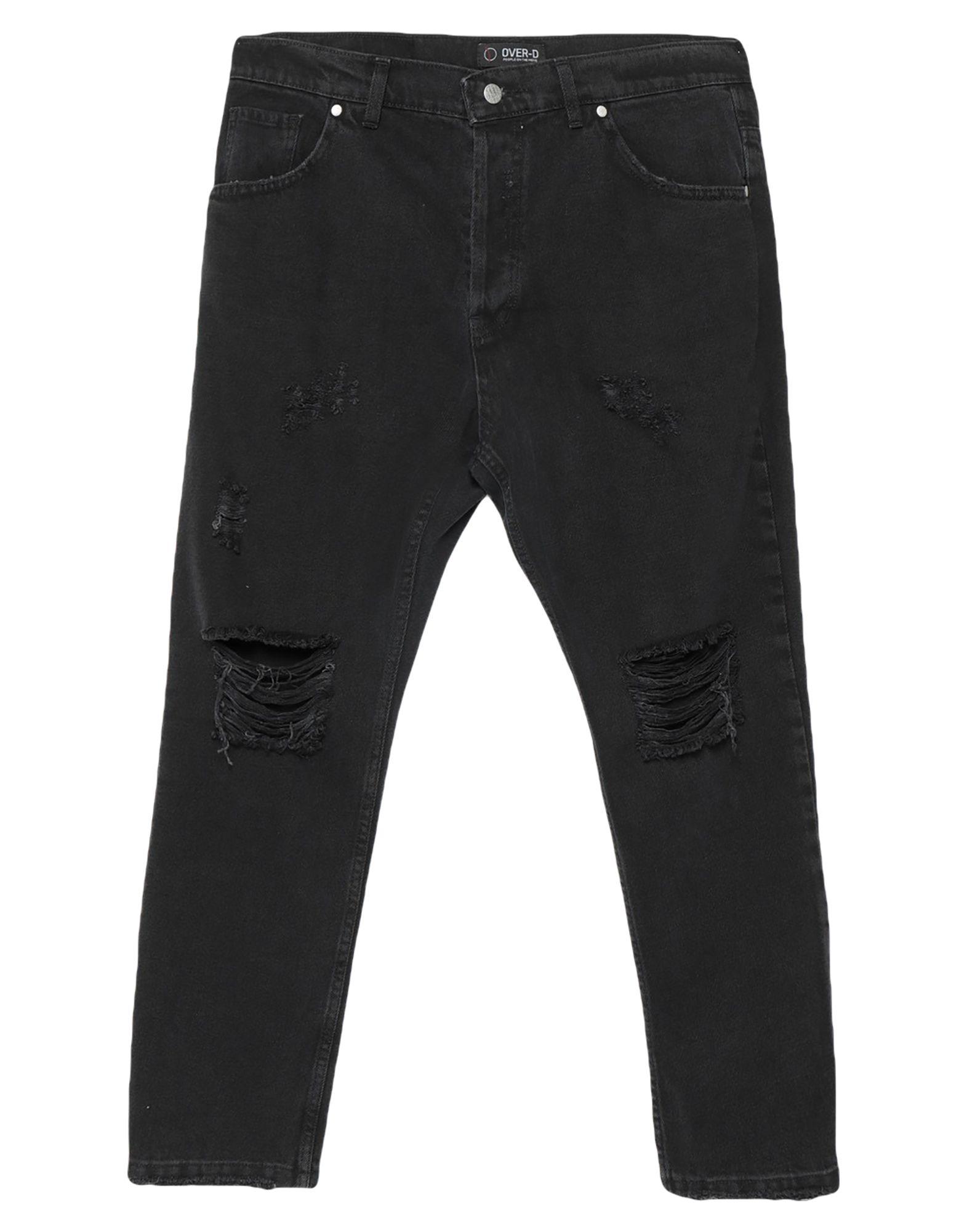 OVER-D Джинсовые брюки брюки over over ov005ewapnp9