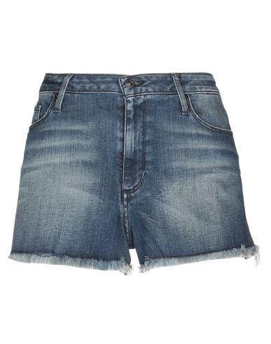 Фото - Джинсовые шорты синего цвета