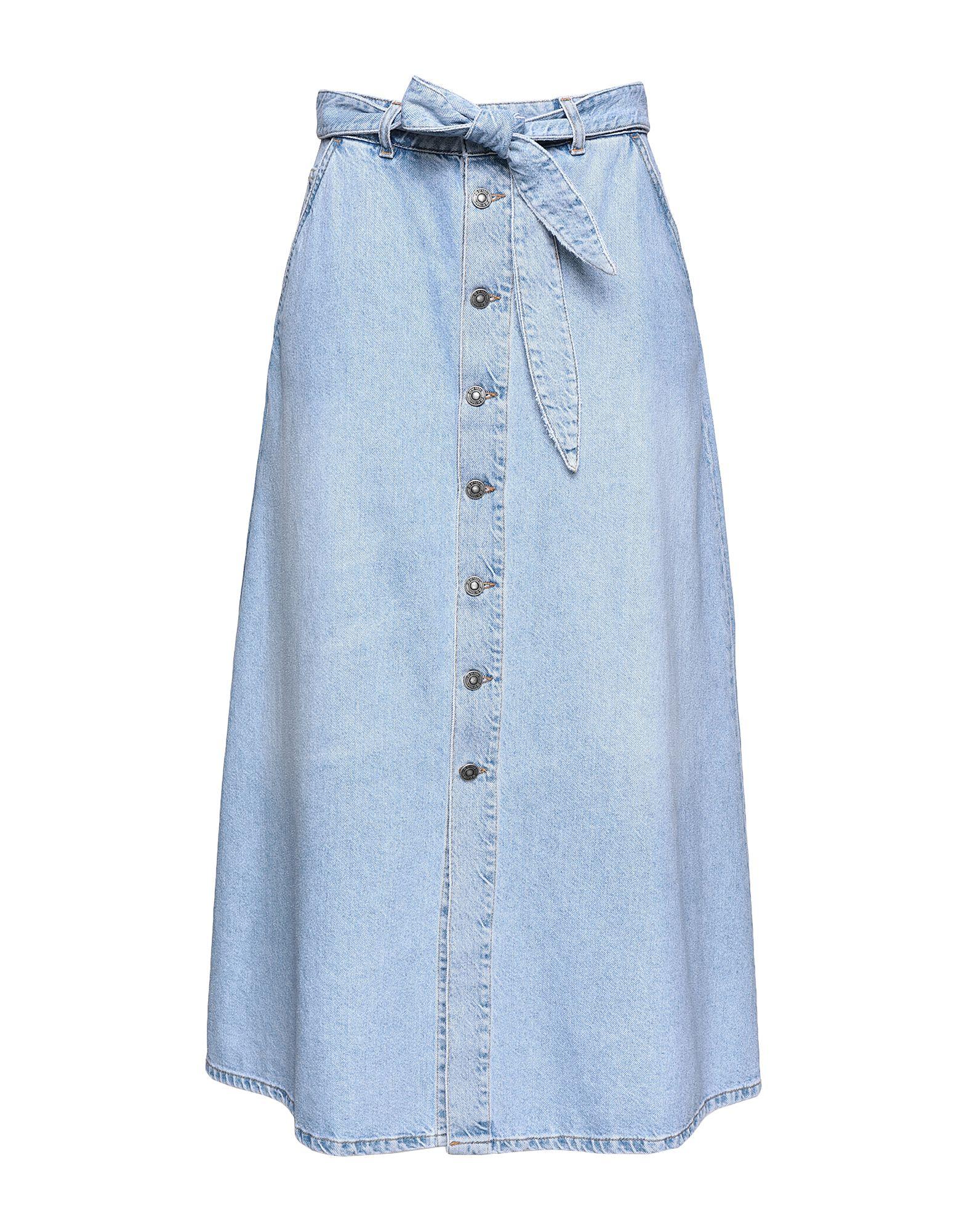 8 by YOOX Джинсовая юбка 8 by yoox джинсовая верхняя одежда