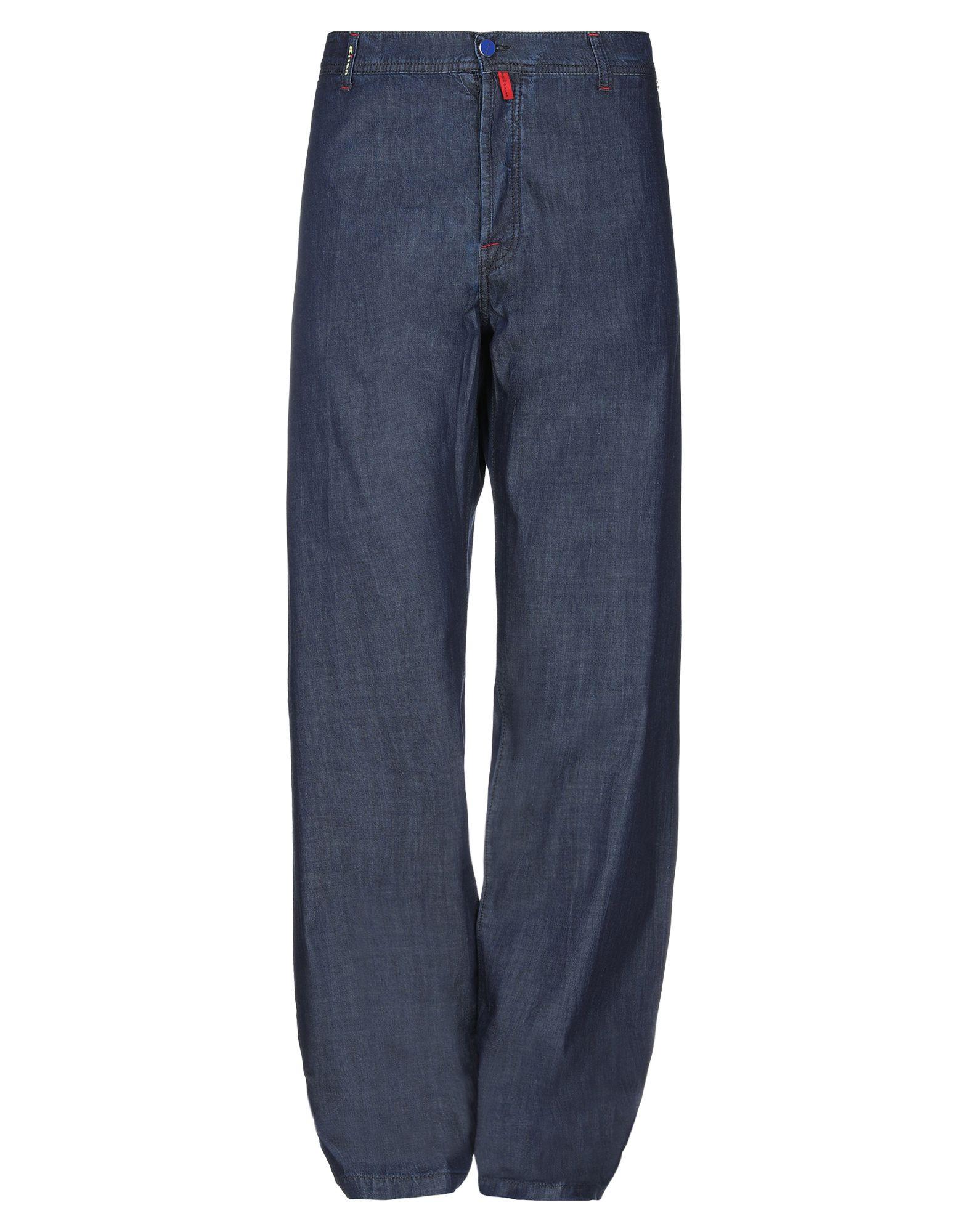 KITON Джинсовые брюки kiton мокасины