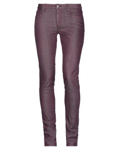 Фото - Джинсовые брюки розовато-лилового цвета