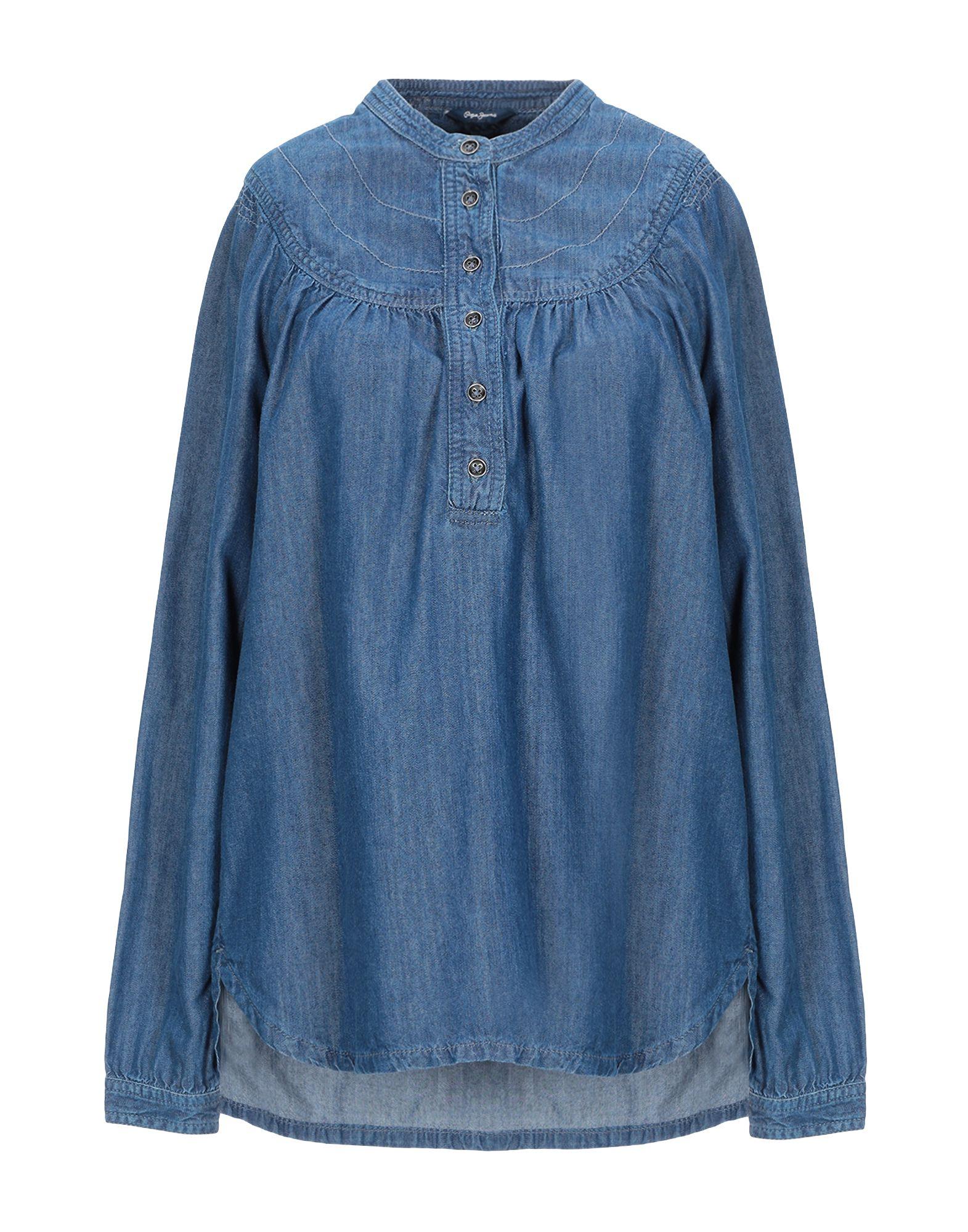 купить PEPE JEANS Джинсовая рубашка по цене 5750 рублей