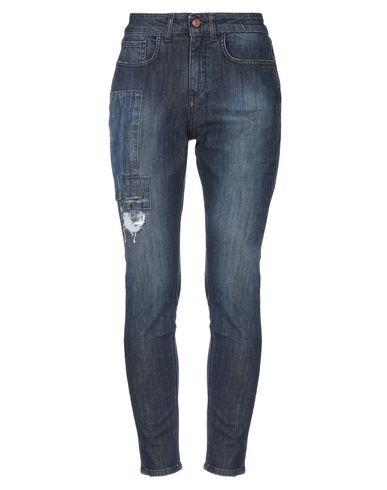 Купить Джинсовые брюки от DERRIÉRE синего цвета