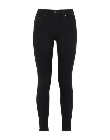 Фото - Джинсовые брюки от TOMMY JEANS черного цвета