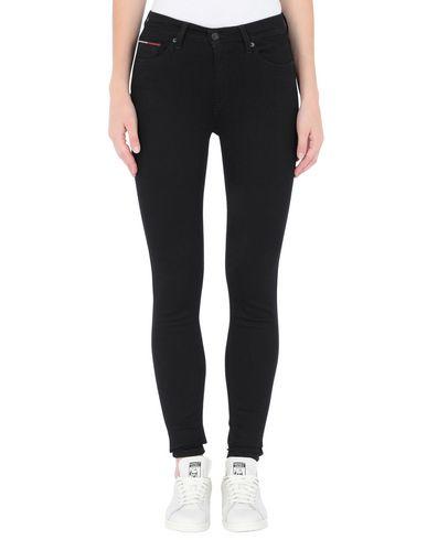 Фото 2 - Джинсовые брюки от TOMMY JEANS черного цвета