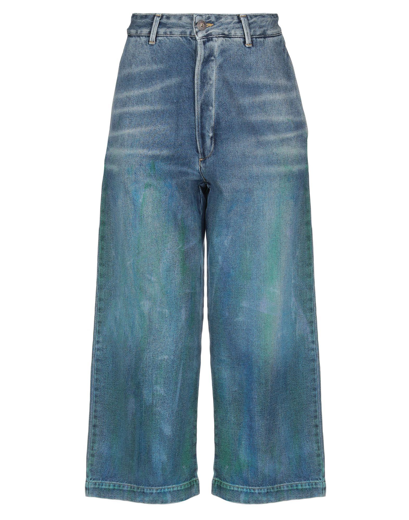 MELTIN POT Джинсовые брюки-капри все цены