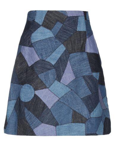 Купить Джинсовая юбка синего цвета