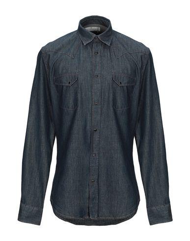 Купить Джинсовая рубашка от MACCHIA J синего цвета