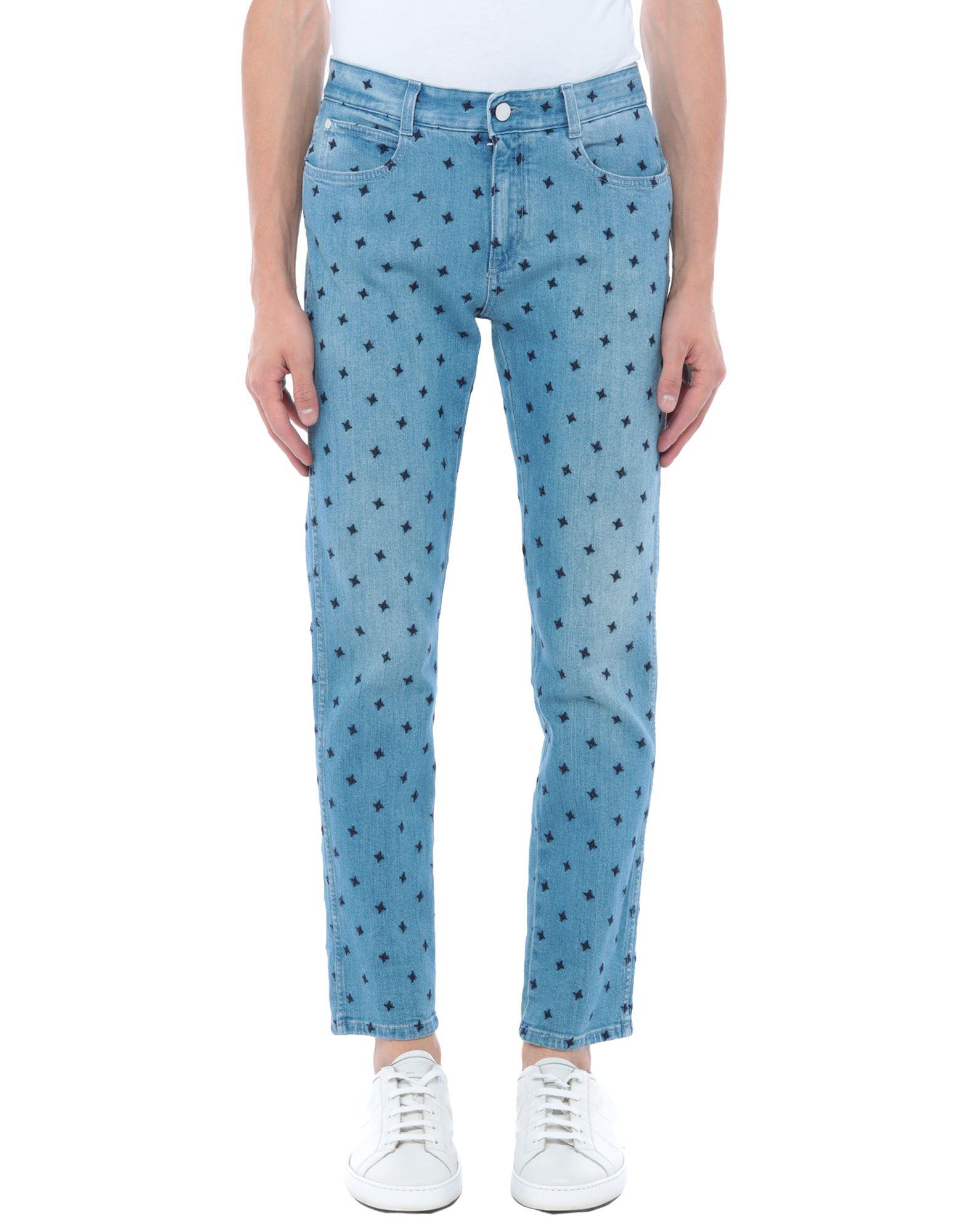 STELLA McCARTNEY MEN Джинсовые брюки stella mccartney men джинсовые брюки