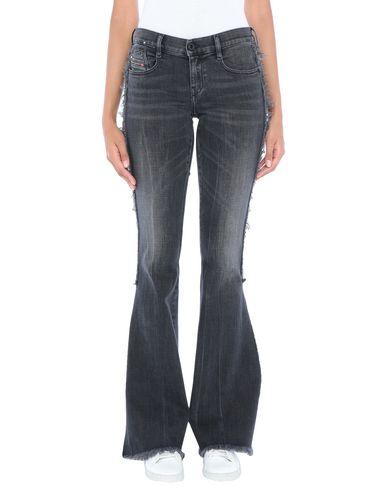 Фото - Джинсовые брюки черного цвета