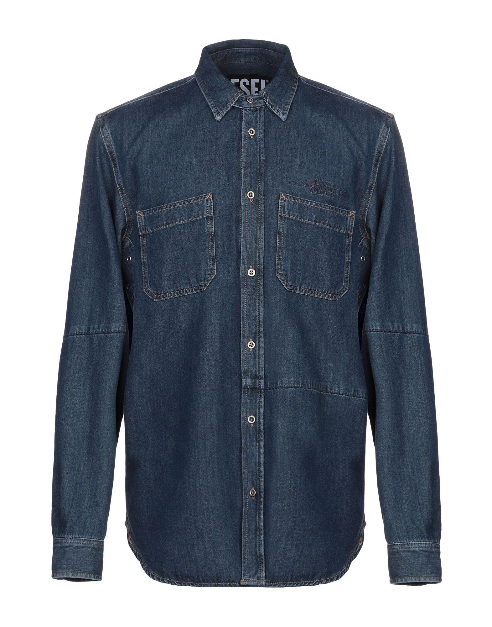 цена на DIESEL Джинсовая рубашка