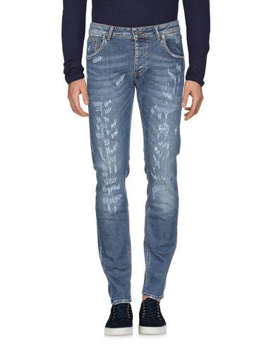 Фото 2 - Джинсовые брюки от BE ABLE синего цвета