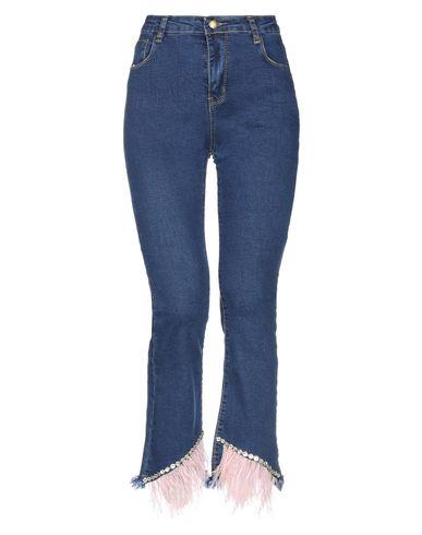 Фото - Джинсовые брюки от AMUSE синего цвета