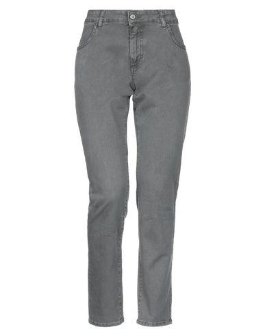 Купить Джинсовые брюки от MOTEL серого цвета