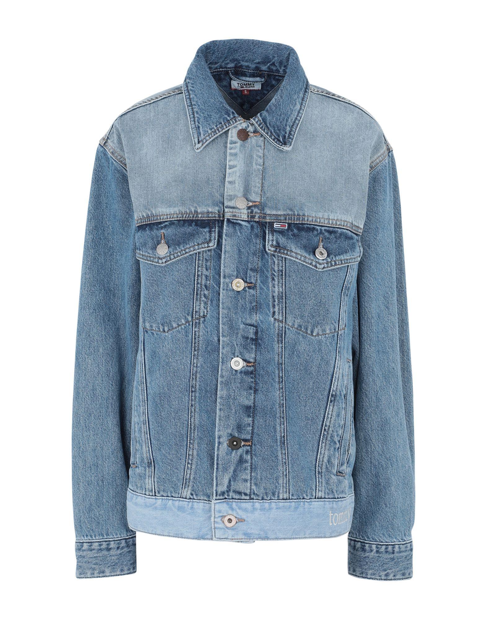 TOMMY JEANS Джинсовая верхняя одежда garcia jeans джинсовая верхняя одежда