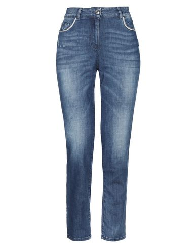 Фото - Джинсовые брюки от LUCKYLU  Milano синего цвета