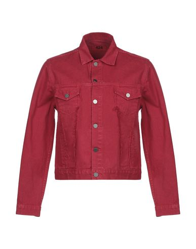 Купить Джинсовая верхняя одежда от 424FOURTWOFOUR красного цвета