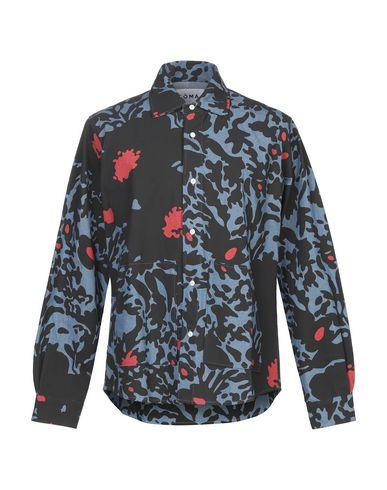 Фото - Джинсовая рубашка от NOMA t.d. синего цвета