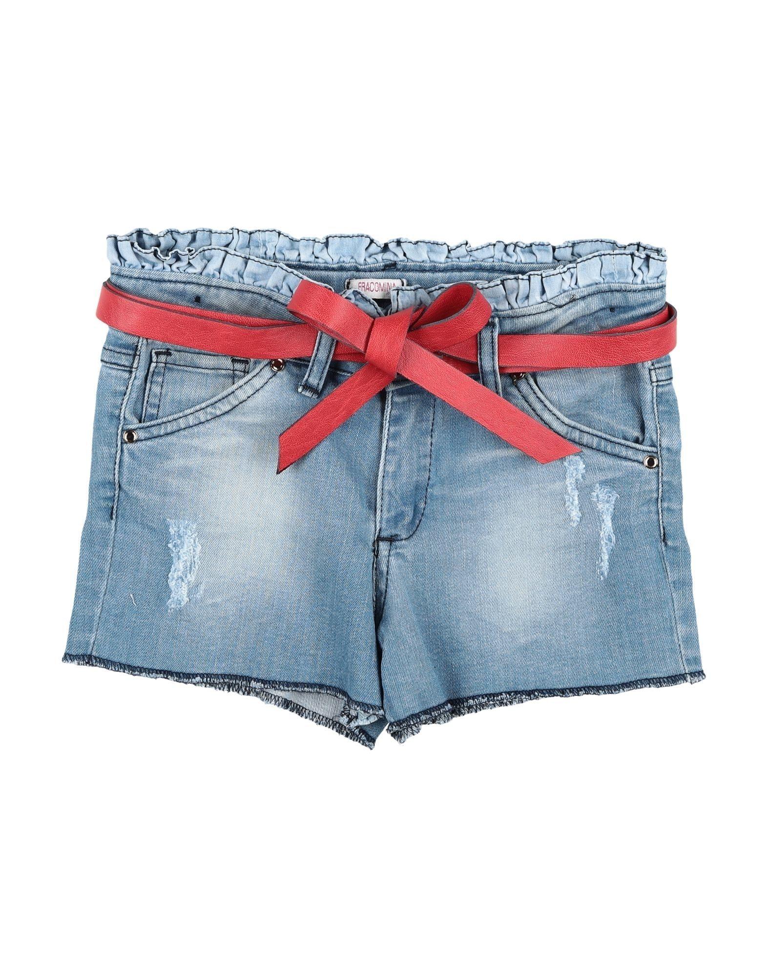 FRACOMINA MINI Джинсовые шорты fracomina mini джинсовые шорты
