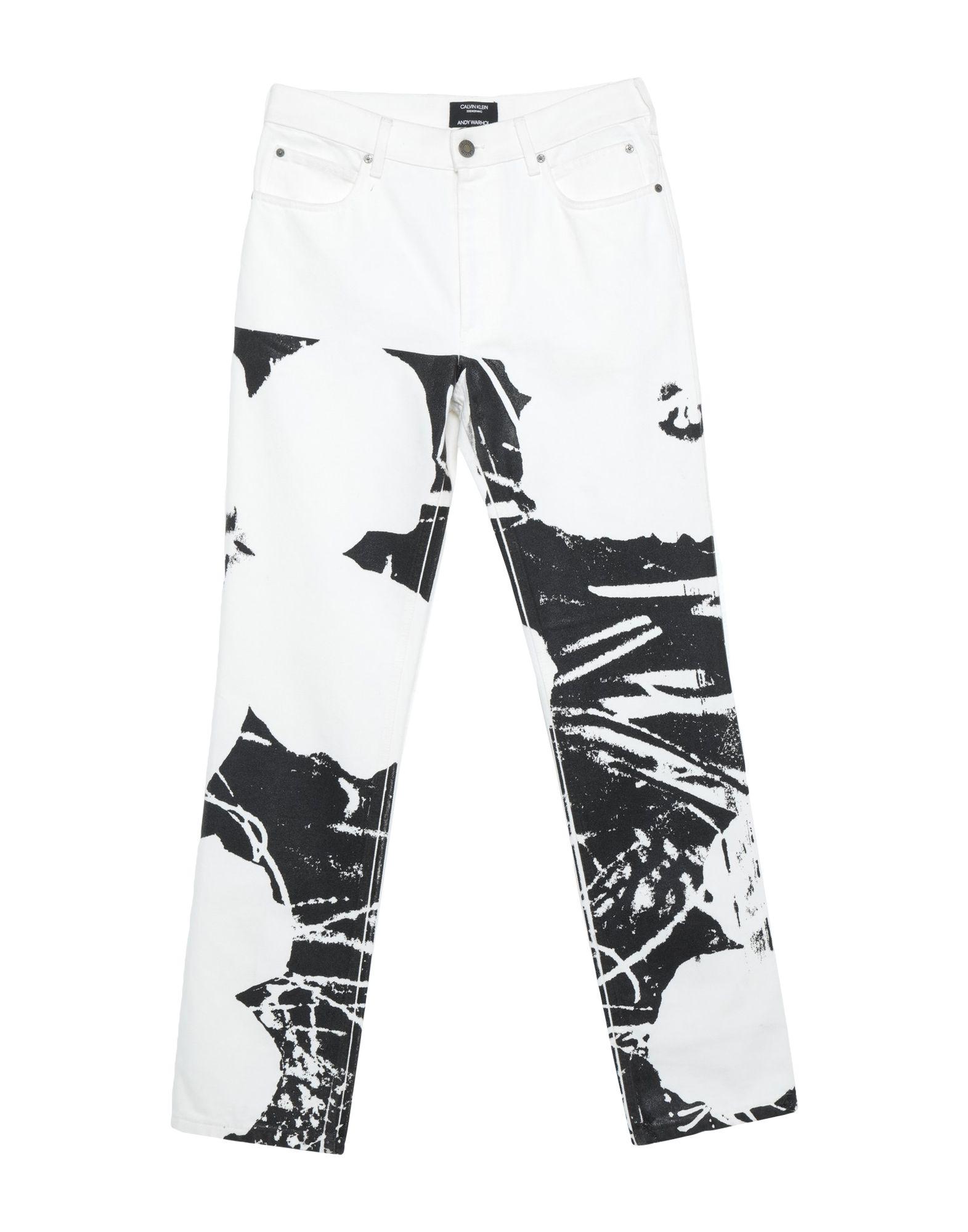 CALVIN KLEIN x ANDY WARHOL Джинсовые брюки calvin klein x andy warhol плавки