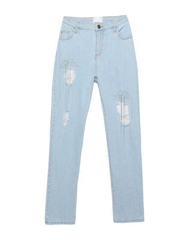 Фото - Джинсовые брюки от ANNARITA N TWENTY 4H синего цвета