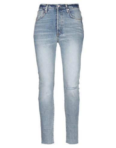 Купить Джинсовые брюки от WE THE FREE синего цвета