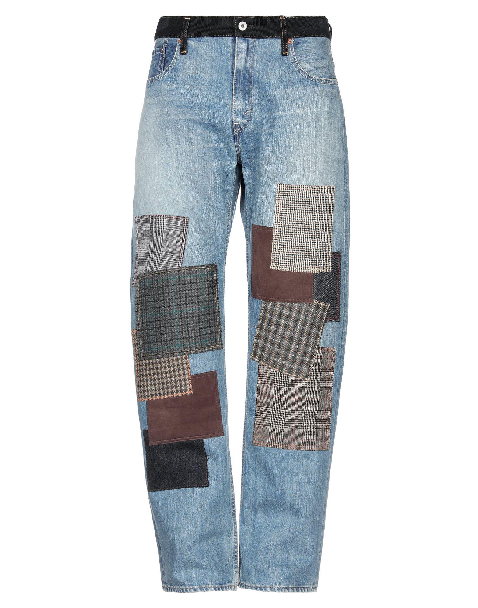 JUNYA WATANABE COMME des GARÇONS MAN X LEVI'S Джинсовые брюки недорго, оригинальная цена