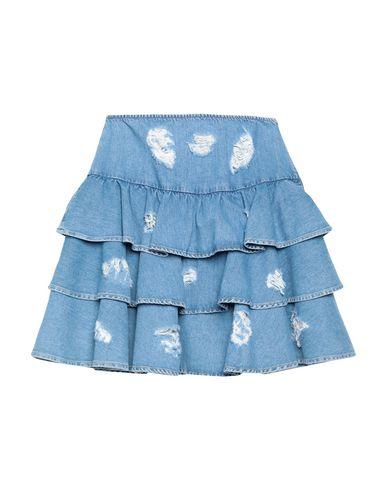Купить Джинсовая юбка от JEREMY SCOTT синего цвета