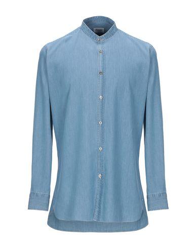 Купить Джинсовая рубашка от DRUMOHR синего цвета