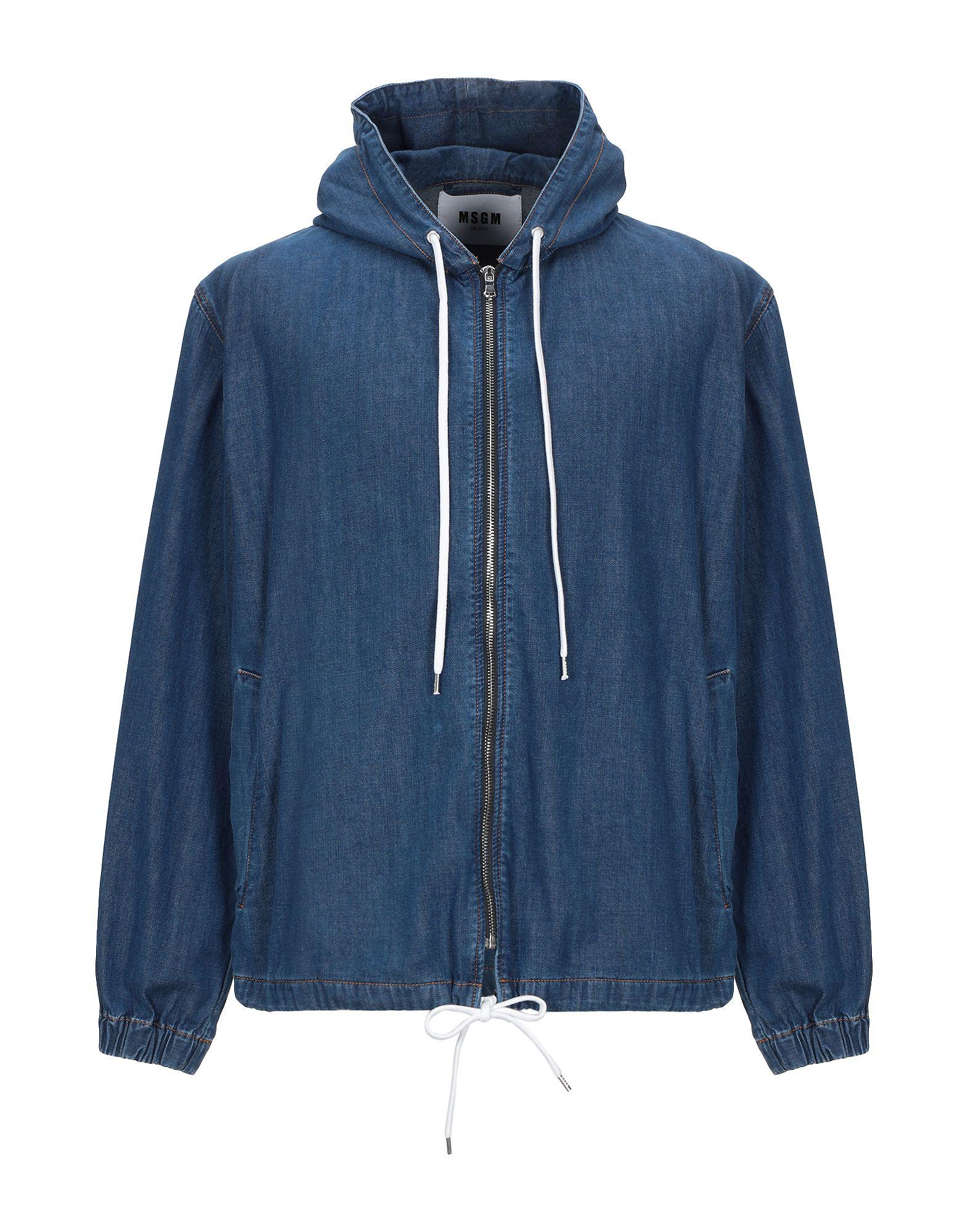 MSGM Джинсовая верхняя одежда msgm джинсовая куртка с нашивкой