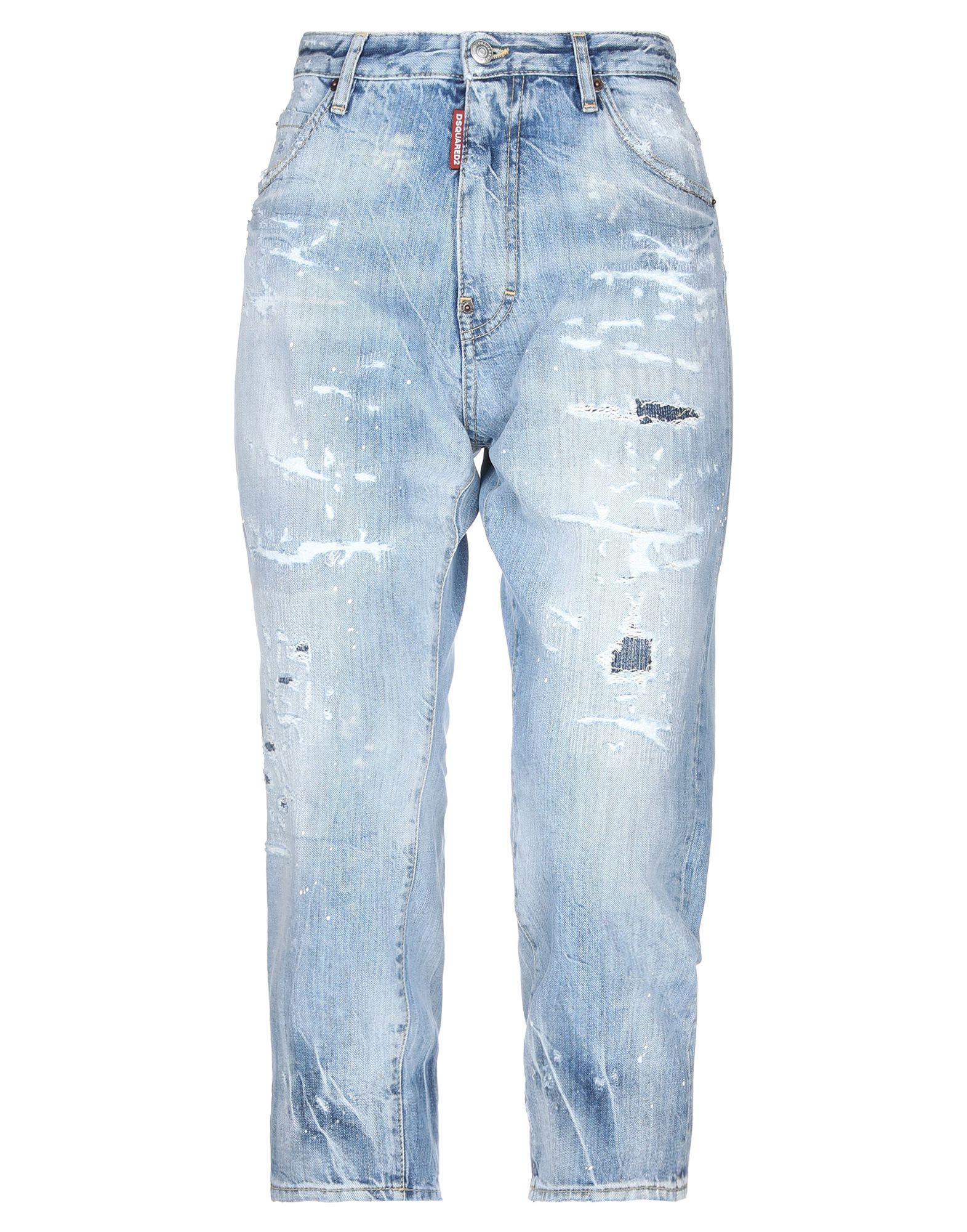 DSQUARED2 Джинсовые брюки-капри sahoco джинсовые брюки капри