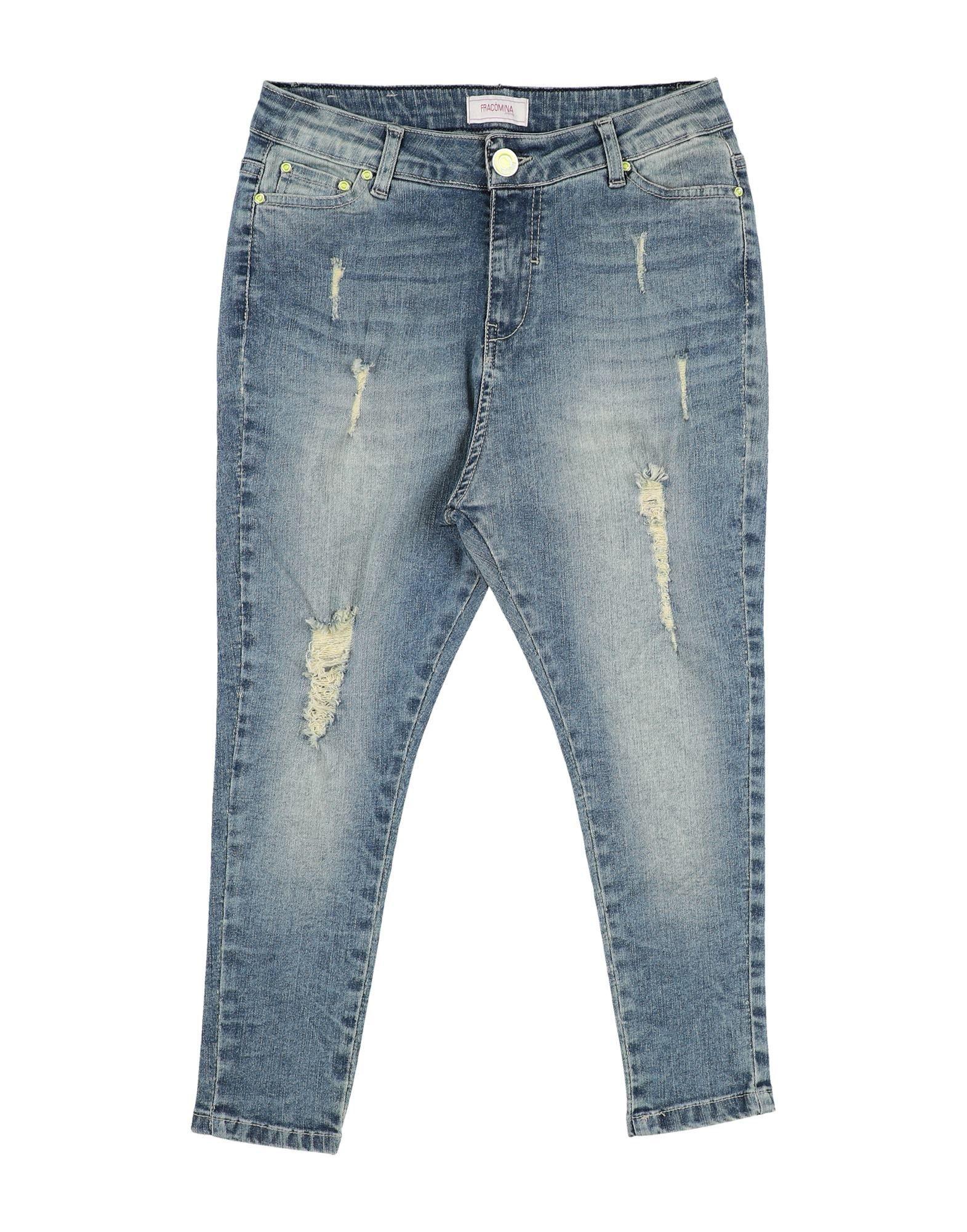 FRACOMINA MINI Джинсовые брюки