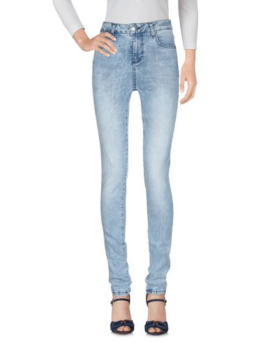 Фото 2 - Джинсовые брюки от DEPARTMENT 5 синего цвета