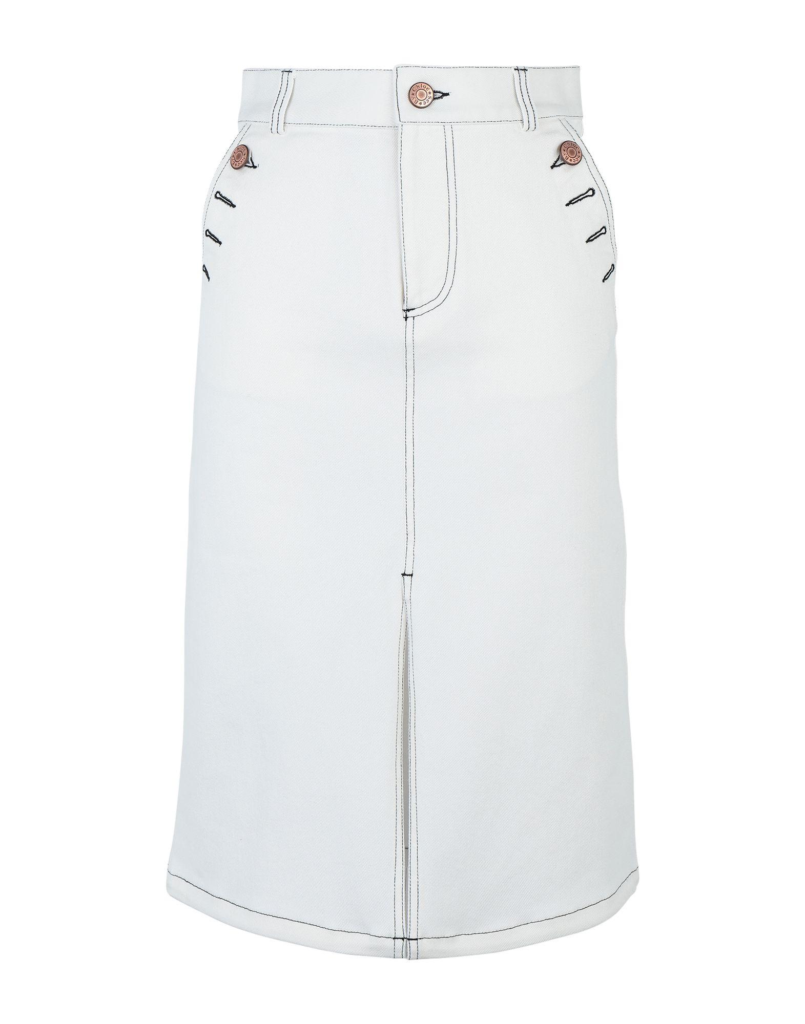 SEE BY CHLOÉ Джинсовая юбка цена 2017