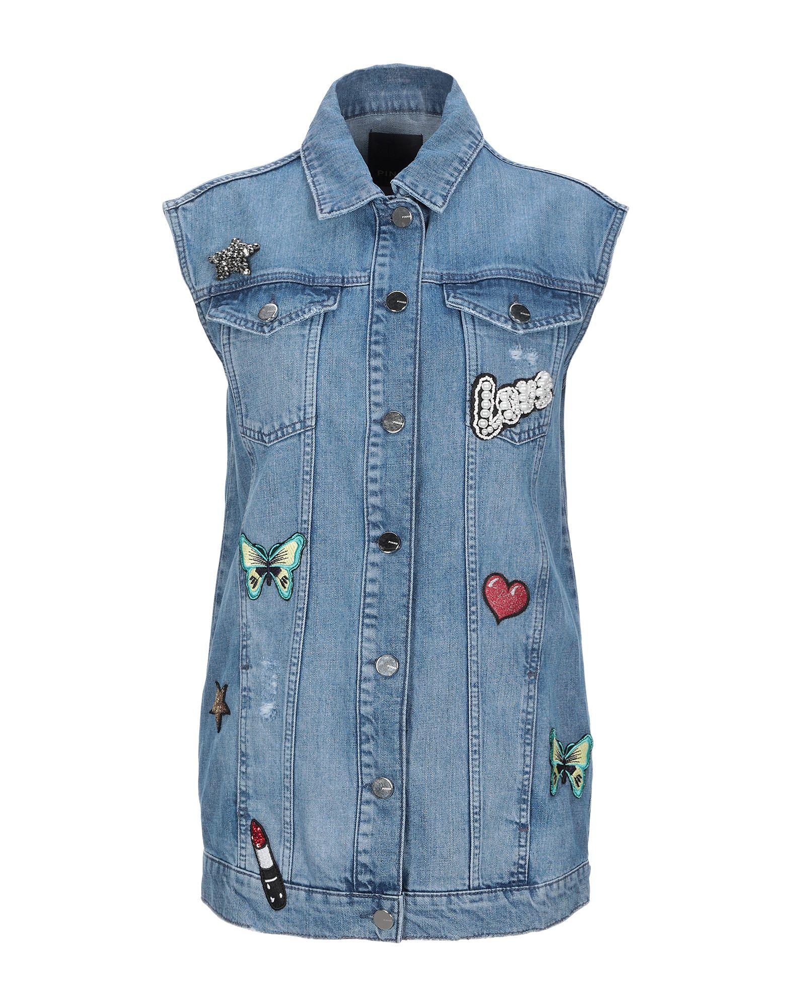 PINKO Джинсовая верхняя одежда недорго, оригинальная цена